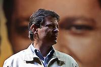 ATEN&Ccedil;&Atilde;O EDITOR: FOTO EMBARGADA PARA VE&Iacute;CULOS INTERNACIONAIS. -&nbsp;SAO PAULO, SP, 29 DE SETEMBRO 2012 - ELEI&Ccedil;&Otilde;ES 2012 - &nbsp;FERNANDO HADDAD -O Candidato a prefeitura de Sao Paulo Fernando haddad participou de um com&iacute;cio na noite deste s&aacute;bado em Sao Miguel Paulista na zona leste da cidade. No com&iacute;cio esteve presente o es- presidente Luiz Inacio lula da silva, ministra da Cultura Marta Suplicy e o Ministro da educa&ccedil;&atilde;o Aloisio Mercadante. Na foto Fernando Haddad<br /> <br /> Local: Pra&ccedil;a Padre Aleixo Monteiro Mafra<br /> VAGNER CAMPOS/ BRAZIL PHOTO PRESS