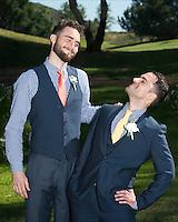 Brian Kelly, Josh Carlton, groomsman, groom