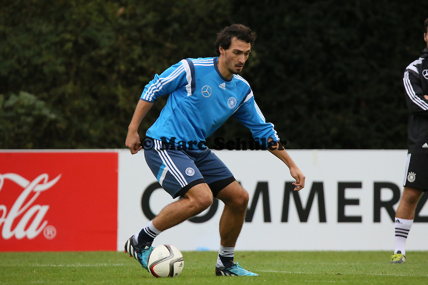 Mats Hummels - Training der Deutschen Nationalmannschaft in Frankfurt