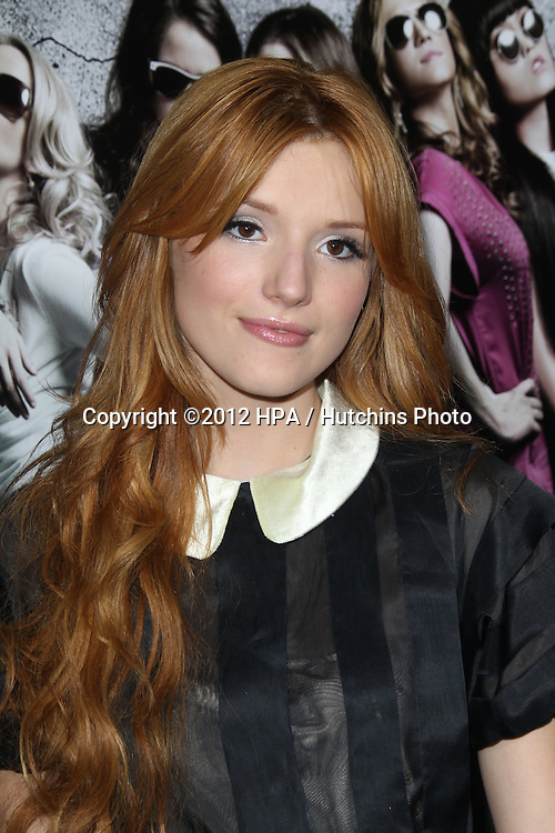 """LOS ANGELES - SEP 24:  Bella Thorne arrives at the """"Pitch Perfect'"""" Premiere at ArcLight Cinemas on September 24, 2012 in Los Angeles, CA"""