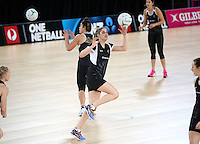 02.09.2016 Silver Ferns Te Paea Selby-Rickit as the Silver Ferns have a walk though during training in Melbourne Australia ahead of their match against Australia. Mandatory Photo Credit ©Michael Bradley.