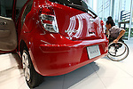 July 13, 2010 - Yokohama, Japan - The new Nissan March compact vehicle is on display during its unveiling in Yokohama, Japan, on Tuesday, July 13, 2010. Nissan said it is aiming to sell 4,000 units a month of the new version in its domestic market with starting price of 999,600 yen (11,300 $US).