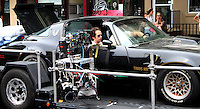 July 07, 2012: Michael Angarano on the set of the new film, Empire State'. Queens, New York. © RW/MediaPunch Inc. /*NORTEPHOTO*<br />
