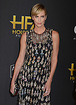 Charlize Theron  arrives at the 23rd Annual Hollywood Film Awards at The Beverly Hilton Hotel on November 03, 2019 in Beverly Hills, California