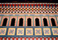 The King's Palace, Tashichhodzong, Bhutan