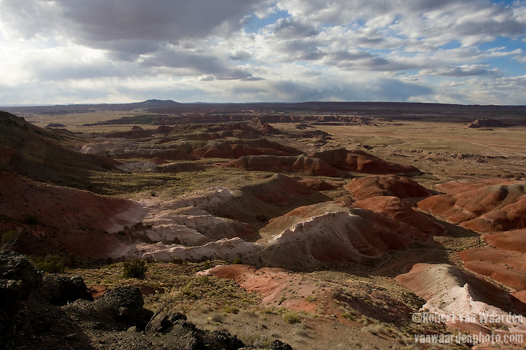 The Painted Desert in Petrified Forest national park, Arizona