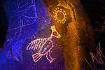 Sun Bird, Three Rivers Petroglyph Site, New Mexico
