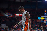 VALENCIA, SPAIN - December 2: Chris Babb during EUROCUP match between Valencia Basket Club and Ratiopharm ULM at Fonteta Stadium on December 2, 2015