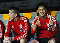 Takashi Usami (Bayern),..JULY 26, 2011 - Football / Soccer :..Takashi Usami of Bayern Munchen gives a thumbs up before the Audi Cup 2011 match between FC Bayern Muenchen 1(5-3)1 AC Milan at Allianz Arena in Munich, Germany. (Photo by AFLO)