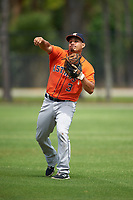 Houston Astros Marlon Avea (3) during practice before a minor league Spring Training game against the Detroit Tigers on March 30, 2016 at Tigertown in Lakeland, Florida.  (Mike Janes/Four Seam Images)
