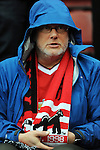 A Manchester United fan<br /> - Barclays Premier League - Stoke City vs Manchester United - Britannia Stadium - Stoke on Trent - England - 26th December 2015 - Pic Robin Parker/Sportimage