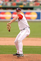 August 9,2008:  Seth Garrison of the Lowell Spinners, Class-A affiliate of the Boston Red Sox, during a game at Fenway Park in Boston, MA.  Photo by:  Ken Babbitt/Four Seam Images