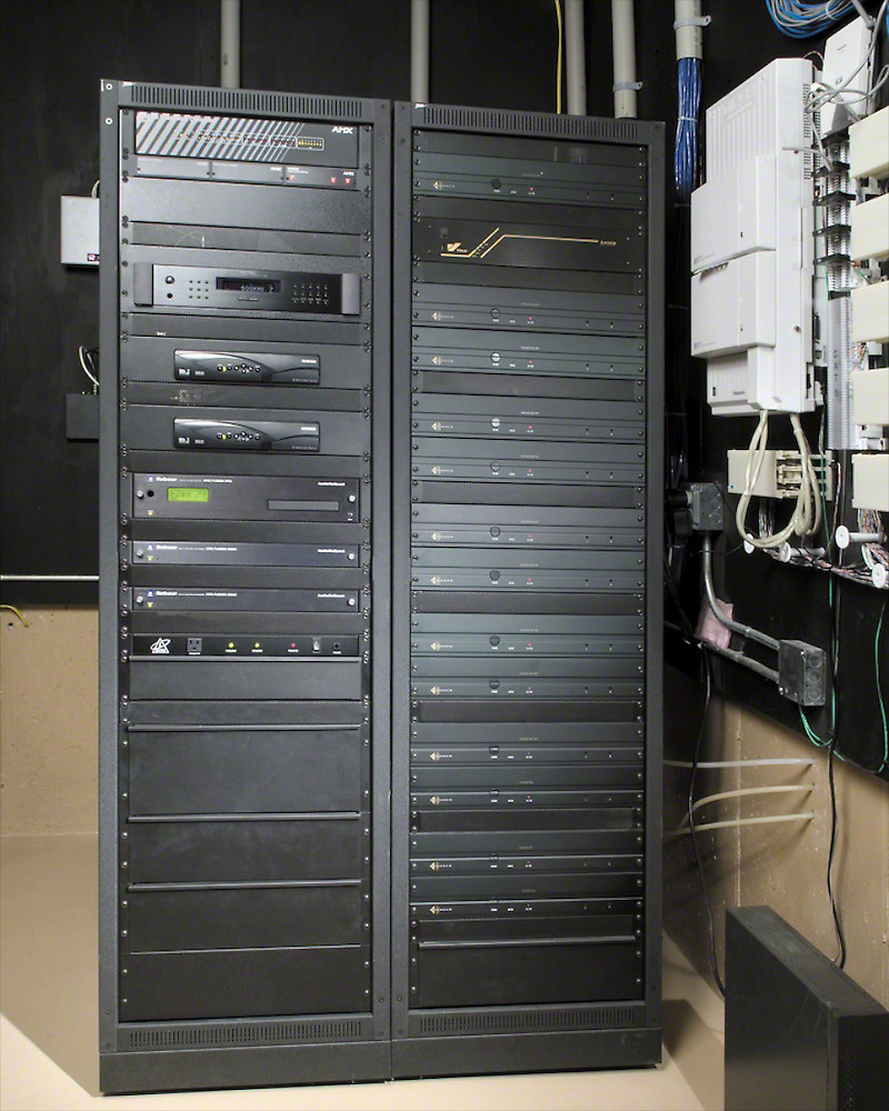 Electronic Equipment Rack Room