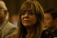 SÃO PAULO, SP, 28.05.2015 - Glória Perez, autora de novelas, na comemoração do Dia da Turquia, na Câmara Municipal de São Paulo, região central da cidade, nessa quinta-feira 28 .( Foto: Gabriel Soares / Brazil Photo Press)