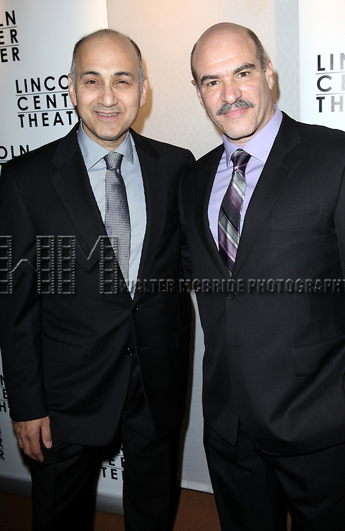 Ned Eisenberg & Demosthenes Chrysan attending the Broadway Opening Night After Party for The Lincoln Center Theater Production of 'Golden Boy' at the Millennium Broadway in New York City on December 6, 2012
