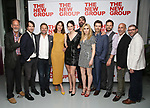 Jon DeVries, Alex Hurt, Norbert Leo Butz, Dolly Wells, Grace Van Patten, Zosia Mamet, Hamish Linklater, Noah Bean, Jonny Orsini, Scott Elliott and Adam Bernstein attend the World Premiere of Hamish Linklater's 'The Whirligig' at Green Fig's Social Drink and Food Club Terrace on May 21, 2017 in New York City.