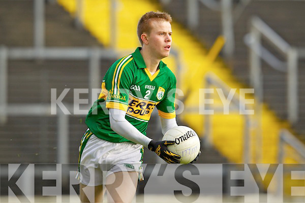 Fionn Fitzgerald Kerry in action against the IT Tralee in the preliminary round of the McGrath Cup at Fitzgerald Stadium on Saturday.
