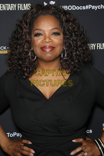 10 March 2014 - Los Angeles, California - Oprah Winfrey. &quot;Paycheck To Paycheck: The Life and Times of Katrina Gilbert&quot; presented by HBO Documentary Films and Maria Shriver held at the Linwood Dunn Theatre. <br /> CAP/ADM/FS<br /> &copy;Faye Sadou/AdMedia/Capital Pictures