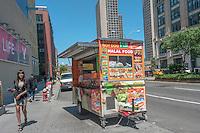 New York, NY 27 May 2013 Halal Food Cart