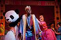 London, UK. 01/12/2011. Aladdin opens at the Lyric Hammersmith. Centre: Hmed Animashaun as Aladdin. Photo credit: Jane Hobson
