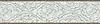 "9 1/2"" Tatewaku border, a hand-cut stone mosaic, shown in honed Montevideao, Jura Grey and polished Calacatta Tia."
