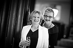 © Joel Goodman - 07973 332324 . 03/03/2016 . Manchester , UK . Ruth Shearn (MD RMS PR) and Fran Eccles-Bech before the ceremony . The Manchester Legal Awards from the Midland Hotel . Photo credit : Joel Goodman