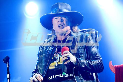 AC/DC &amp; Axl Rose as singer<br />07-MAY-2016 - Passeio Maritimo De Alge, Lisbon, Portugal<br /> &copy; Thomas Zeidler-DALLE
