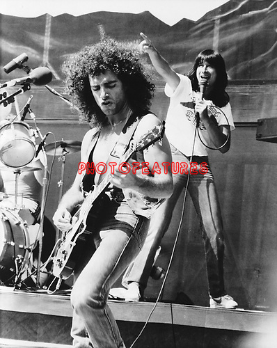 Journey 1981 Neal Schon and Steve Parry.© Chris Walter.