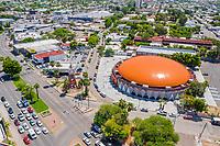 Aerial view or city landscape of the Sonoran Arena formerly called state gym in Hermosillo, Sonora. One of the main avenues of this city is located on Rodriguez Boulevard.<br /> (Photo: LuisGutierrez / NortePhoto.com)<br /> <br /> Vista aerea  o paisaje de ciudad de la Arena Sonora antes llamado gimnacio del Estado en Hermosillo, Sonora. Se ubica en el bulevar Rodriguez una de las principales avenidas de esta ciudad.<br /> (Photo: LuisGutierrez/NortePhoto.com)