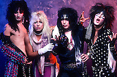 MOTLEY CRUE, 1985, WILLIAM HAMES