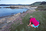 photographer at Moss Cove