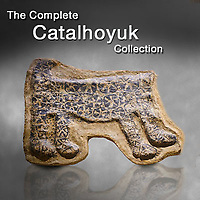 Pictures & images of Prehistoric Catalhoyuk art, artefacts & antiquities