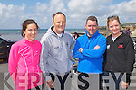 TRIATHLON: Taking part in the Kerryhead Triathlon at Ballyheigue in aid of Enable Ireland on Sunday l-r: Jane Kearney, Tralee, Mike Finnerty, Fenit, Niall O? Loingsigh, The Spa and Bridget Flynn, Castlemaine.
