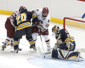 Stephen Gionta, Mike Alexiou, Chris Collins, Jeff Healey - Boston College defeated Merrimack College 3-0 with Tim Filangieri's first two collegiate goals on November 26, 2005 at Kelley Rink/Conte Forum in Chestnut Hill, MA.