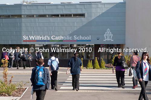 Newly built state Roman Catholic Secondary School.