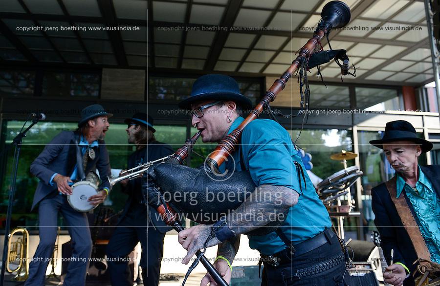 BMZ Tag der offenen Tür 2015, Hauptbühne, Konzert Balkanrock mit BerlinskiBeat