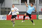 Sandhausen 05.12.2009, 3. Liga SV Sandhausen - FC Ingolstadt 04, Sandhausens Patrick Kirsch gegen Ingolstadts Moise Bambara<br /> <br /> Foto &copy; Rhein-Neckar-Picture *** Foto ist honorarpflichtig! *** Auf Anfrage in h&ouml;herer Qualit&auml;t/Aufl&ouml;sung. Ver&ouml;ffentlichung ausschliesslich f&uuml;r journalistisch-publizistische Zwecke. Belegexemplar erbeten.