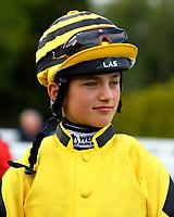 Jockey Angus Villiers during Evening Racing at Salisbury Racecourse on 3rd September 2019