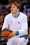 Turkish Airlines Euroleague 2017/2018.<br /> Regular Season - Round 23.<br /> FC Barcelona Lassa vs R. Madrid: 74-101.<br /> Luka Doncic.