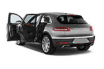 Car images close up view of a 2015 Porsche Macan Turbo 5 Door SUV doors