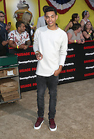 "09 August 2016 - Westwood, California - Roshon Fegan. ""Sausage Party"" Los Angeles Premiere held at Regency Village Theatre. Photo Credit: Sammi/AdMedia"