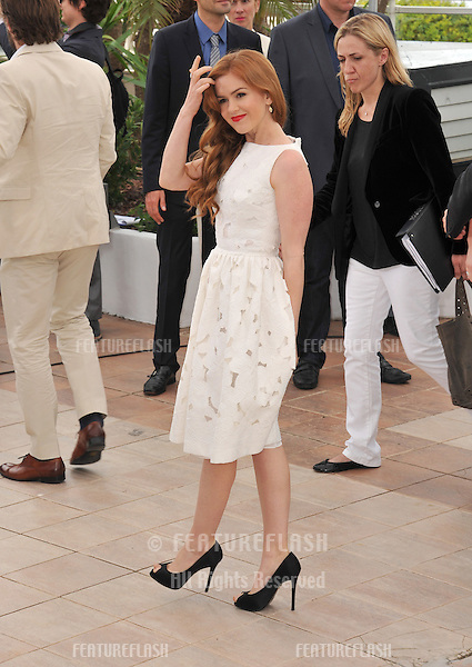 "Isla Fisher at the photocall for her movie ""The Great Gatsby"" at the 66th Festival de Cannes..May 15, 2013  Cannes, France.Picture: Paul Smith / Featureflash"