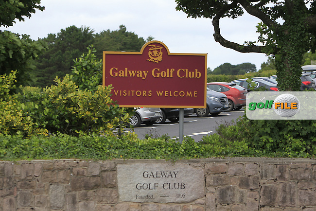 Galway Golf Club, Visitors Welcome during R2 of the 2016 Connacht U18 Boys Open, played at Galway Golf Club, Galway, Galway, Ireland. 06/07/2016. <br /> Picture: Thos Caffrey | Golffile<br /> <br /> All photos usage must carry mandatory copyright credit   (&copy; Golffile | Thos Caffrey)