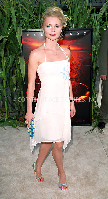 "Izabella Miko arrives at the world premiere of Touchstone Pictures' movie, ""Signs"" at Lincoln Center, New York. July 29, 2002. Please byline: Alecsey Boldeskul/NY Photo Press.   ..*PAY-PER-USE*      ....NY Photo Press:  ..phone (646) 267-6913;   ..e-mail: info@nyphotopress.com"