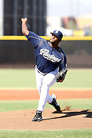 Eugenio Reyes - San Diego Padres - 2010 Instructional League.Photo by:  Bill Mitchell/Four Seam Images..