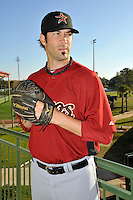 Feb 25, 2010; Kissimmee, FL, USA; The Houston Astros pitcher Casey Daigle (41) during photoday at Osceola County Stadium. Mandatory Credit: Tomasso De Rosa/ Four Seam Images