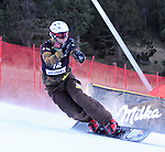 10.03.2012, La Molina, Spain. LG Snowboard FIS Wolrd Cup 2011-2012. MEN'S parallel giant slalom. Picture show Rok Flander SLO