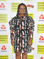 Oyinkan Braithwaite at the Women's Prize for Fiction Awards 2019, Bedford Square Gardens, Bedford Square, London, England, UK, on Wednesday 05th June 2019.<br /> CAP/CAN<br /> ©CAN/Capital Pictures