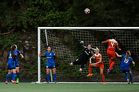 Seattle, Washington -  Saturday April 22, 2017: Haley Kopmeyer during a regular season National Women's Soccer League (NWSL) match between the Seattle Reign FC and the Houston Dash at Memorial Stadium.