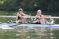 Race: 134  W.MasE.2x  Semi-Final<br /> 379  Trentham Boat Club<br /> 380  Eton Excelsior Rowing Club<br /> <br /> Henley Masters Regatta 2018 - Friday<br /> <br /> To purchase this photo, or to see pricing information for Prints and Downloads, click the blue 'Add to Cart' button at the top-right of the page.